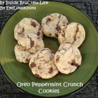Oreo Peppermint Crunch Cookies – Recipe Review – Inside BruCrew Life