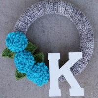 Turqua Spring Wreath – Free Crochet Pattern