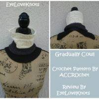 Gradually Cowl – Crochet Pattern Review – ACCROchet
