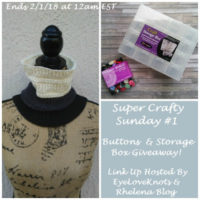 Super Crafty Sunday Link Up #1 – EyeLoveKnots Sponsored Giveaway