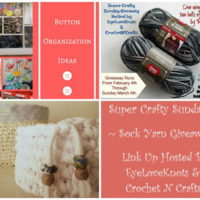 Super Crafty Sunday Link Up #2 – Crochet n Crafts Sponsored Giveaway