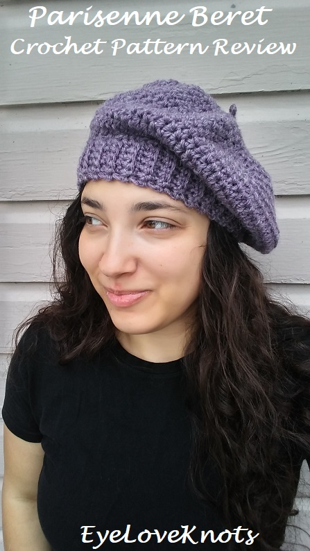 Parisenne Beret Crochet Pattern Review Happy Yarn Mail