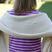 Rectangle Shawl and Happily Hooked Magazine Issue 48