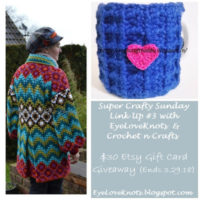 Super Crafty Sunday Link Up #3 – Etsy Gift Card Giveaway