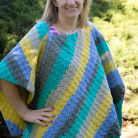 Corner to Corner Poncho and the Pattern Pack Pro, Issue 42
