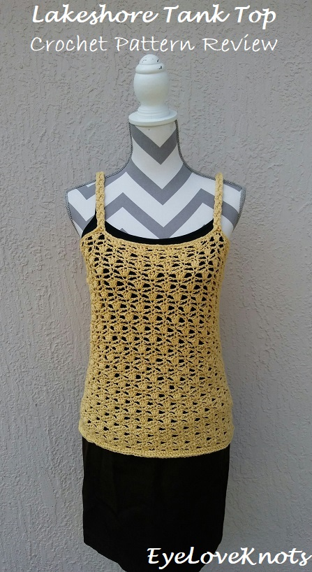 Lakeshore Tank Top Crochet Pattern Review A Crocheted Simplicity