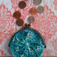 Whirlpool Coin Purse – Free Crochet Pattern