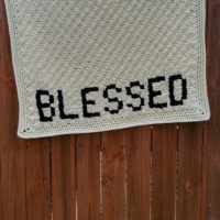 Blessed C2C Blanket – Free Crochet Pattern