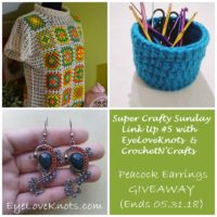 Super Crafty Sunday #5 – EyeLoveKnots Sponsored Giveaway