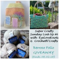 Super Crafty Sunday Link Up #6 – EyeLoveKnots Sponsored Giveaway