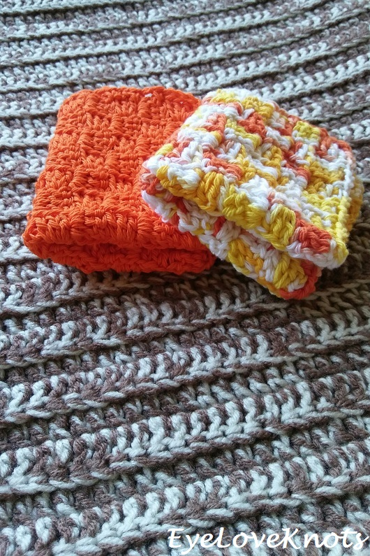 Basic C2C Washcloth – Free Crochet Pattern