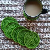 Fresh Cut Coasters – Free Crochet Pattern
