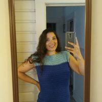 V-Stitch Crochet Top – Crochet Pattern Review
