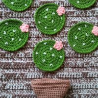 Prickly Pear Cactus Coasters – Crochet Pattern Review