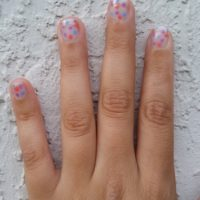 Sinful Polka Dotted Nails – Easy Nail Tutorial