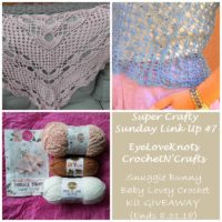 Super Crafty Sunday #7 – EyeLoveKnots Sponsored Giveaway