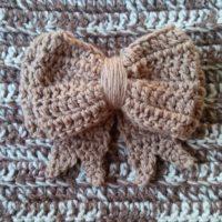 Double Layered Bow – Free Crochet Pattern