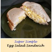 Super Simple Egg Salad Sandwich Recipe