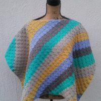 C2C Poncho – Free Crochet Pattern
