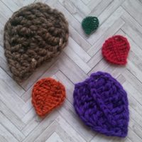 Basic Leaf Pattern 2 Ways – Free Crochet Pattern