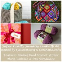 Super Crafty Sunday Link Up #8 – Two Giveaways!