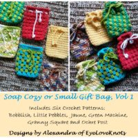Soap Cozy or Small Gift Bag, Vol 1 – Crochet eBook