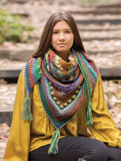 Hidden Hills Shawl – Annie's Signature Designs