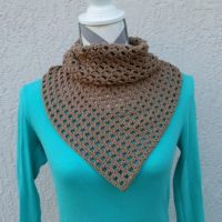 Geometry Squared Triangle Shawl – Crochet Pattern Review