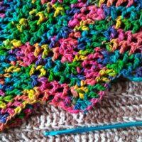 Ripples Neckware and Darn Good Yarn Roving Silk Yarn – Crochet Pattern and Yarn Reviews