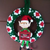 Granny's Christmas Wreath – Free Crochet Pattern