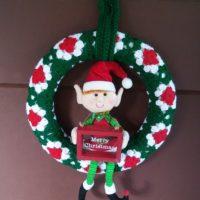 Granny's Christmas Wreath – Free Crochet Pattern