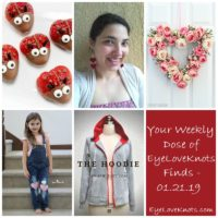 Weekly Dose of EyeLoveKnots Finds – 01.21.19