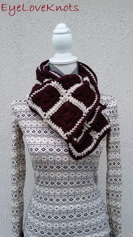 Claret's Winter Scarf – Free Crochet Pattern