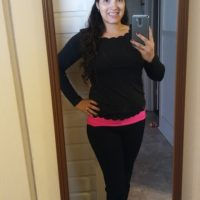 Black Scallop Trimmed Top for Work – Fashion Review