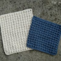 Textured Pebble Washcloths – Free Crochet Pattern