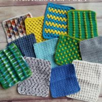 Let's Crochet Some Washcloths, Vol 1 – Crochet eBook