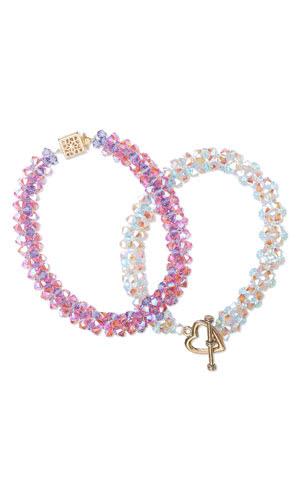 Crystal Bracelet C618 from Fire Mountain Gems, On Rockwood Lane