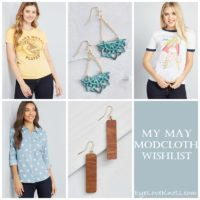 My May ModCloth Wishlist