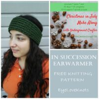 In Succession Earwarmer – Free Knitting Pattern
