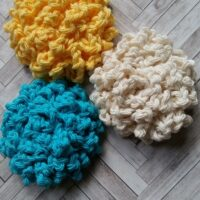 Endless Summer Facial Scrubbies – Free Crochet Pattern
