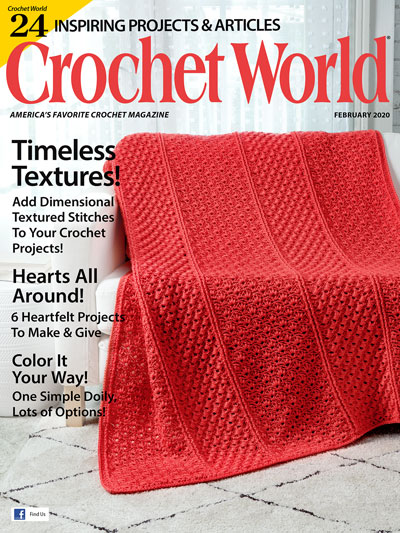 Crochet World February 2020