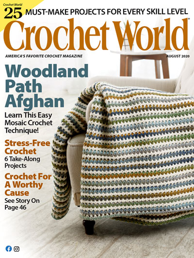 Crochet World August 2020