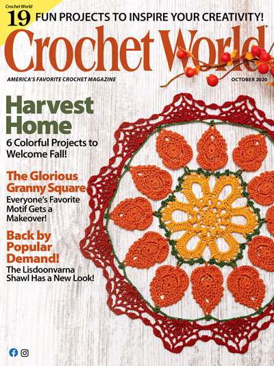 Crochet World October 2020