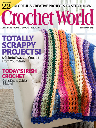 Crochet World February 2021