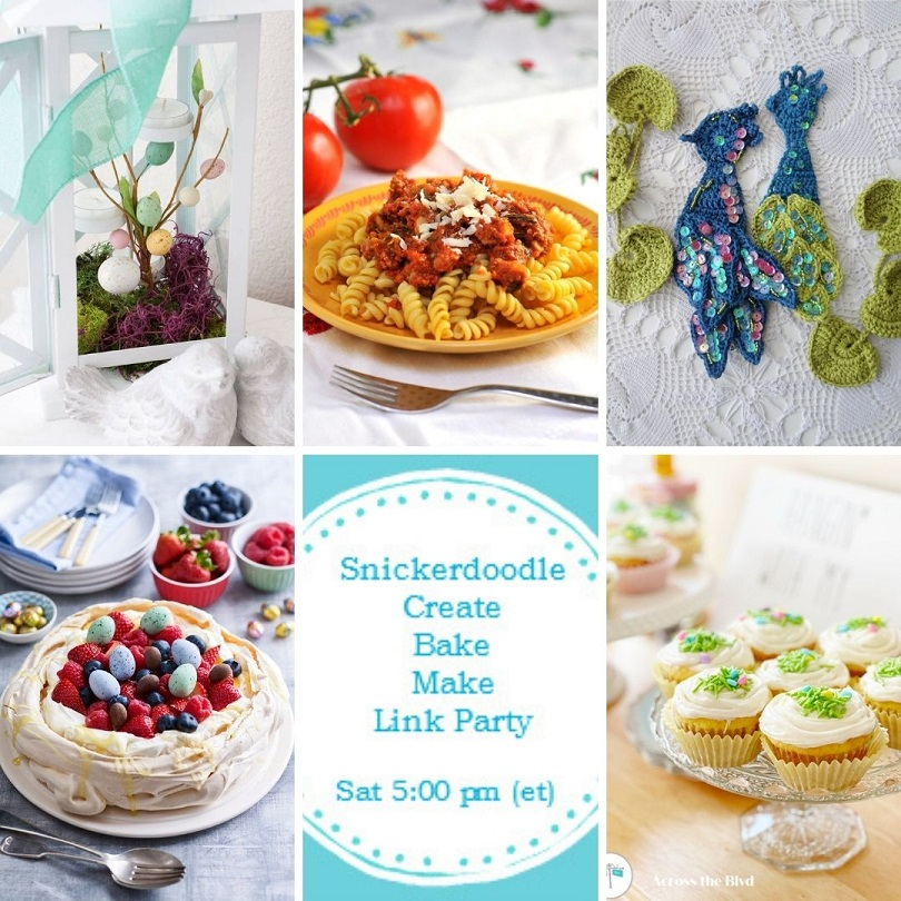 Image showing the 5 Spring DIYs to include how to decorate your home for Spring, how to make pork and fennel tomato sauce, blue peacock inspiration, how to make a berry pavlova and how to make lemon cupcakes.